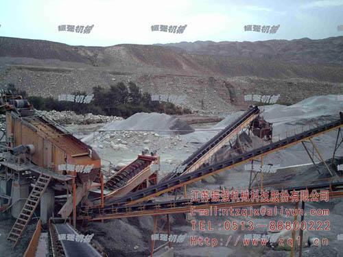 人工沙石成套加工设备